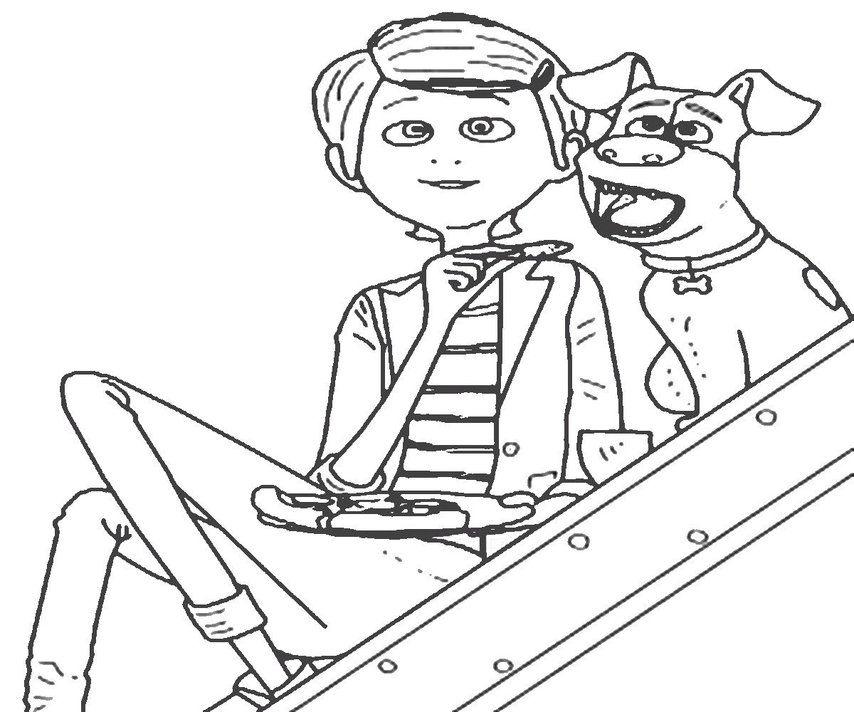 1200x1000 Life Of Pets Coloring Pages To Print Free Coloring Sheets