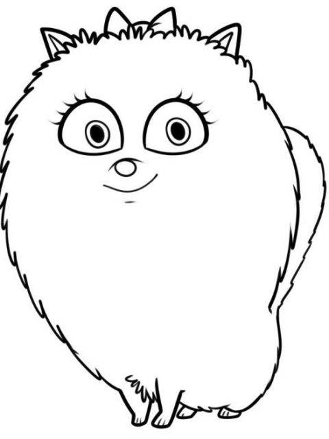 480x640 Secret Life Of Pets Coloring Pages Pictures To Color