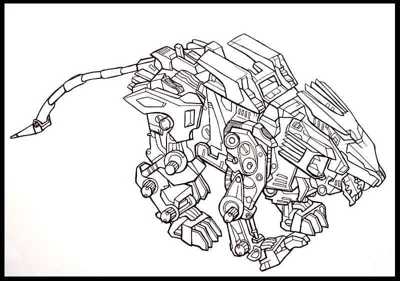 800x562 Coloring Pages Zoids
