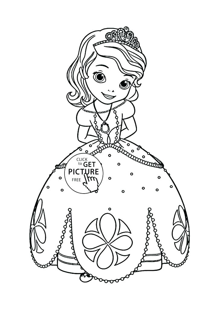 736x1030 Free Princess Coloring Pages Princess Free Coloring Pages Princess