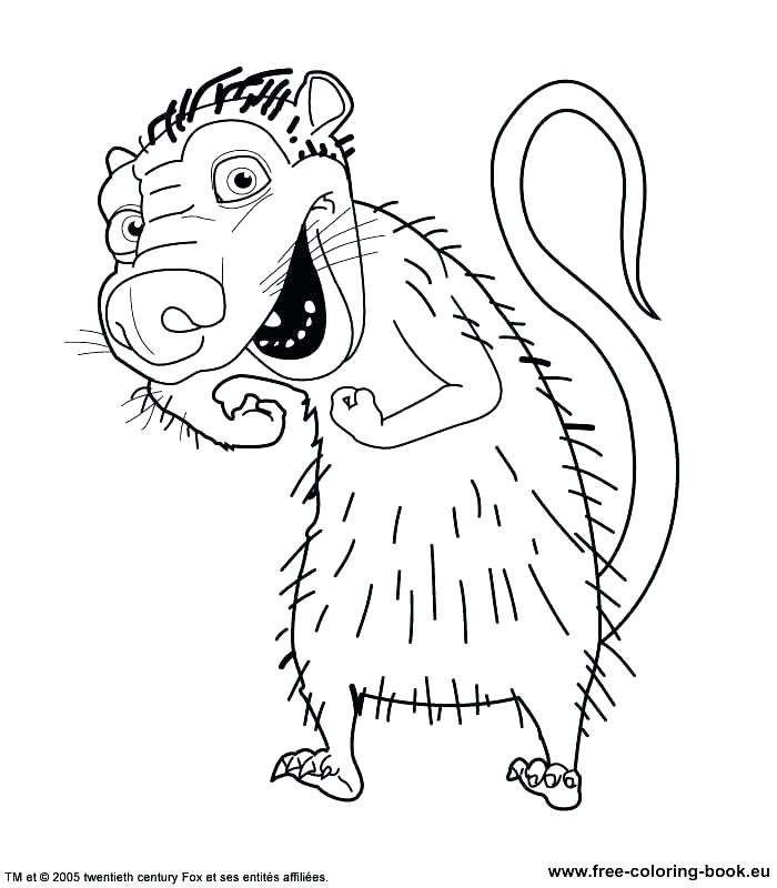 700x800 Ice Age Coloring Ice Age Coloring Pages Ice Age Coloring Games