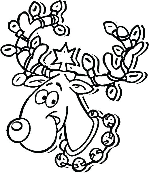 517x600 Light Bulb Coloring Page