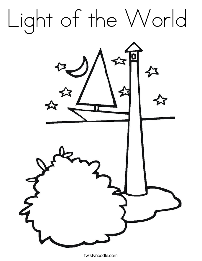 685x886 Jesus Is Light Of World Coloring Page Awesome Jesus Is