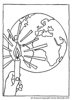236x325 Trend Jesus Is The Light Of The World Coloring Page
