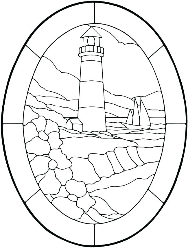 650x858 Lighthouse Coloring Page Amazing Lighthouse Pictures To Color Free