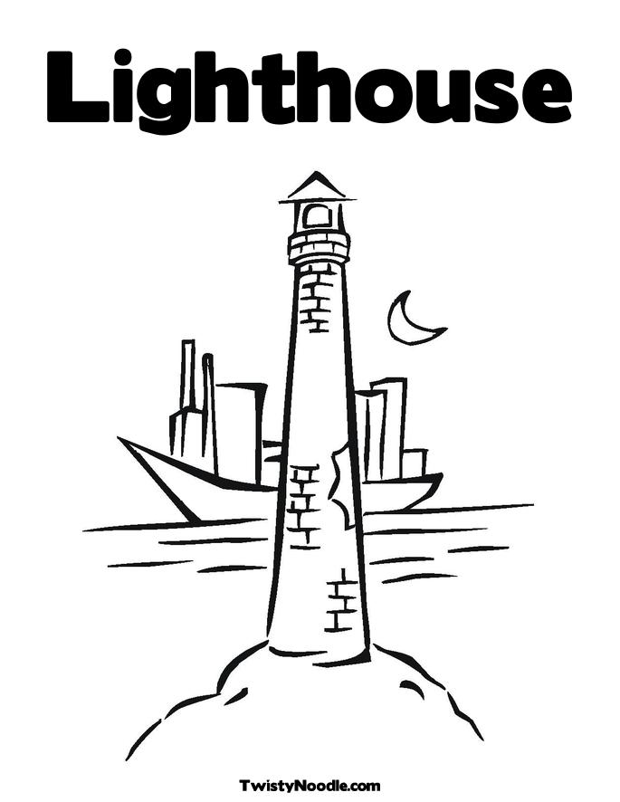 685x886 Lighthouse Coloring Pages Free Many Interesting Cliparts