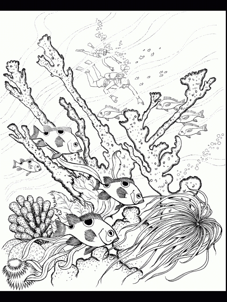 768x1024 New Ocean Coloring Pages For Kids Lighthouse Collection Great