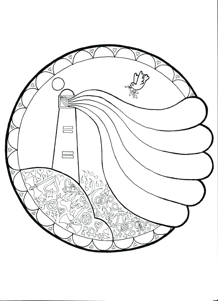 743x1024 Lighthouse Coloring Pages Lighthouse Coloring Page Beach Coloring