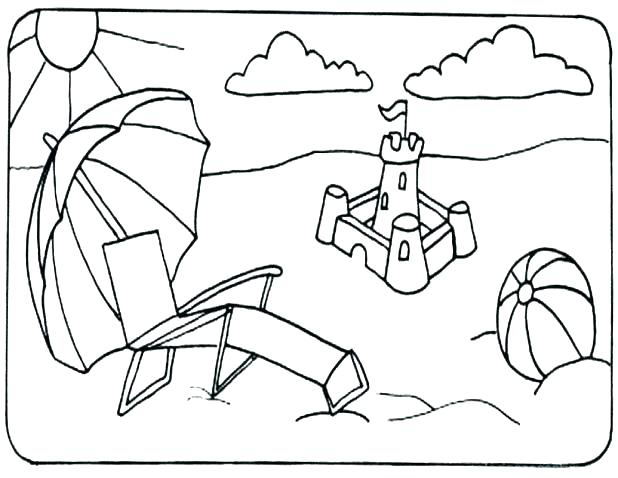 618x478 Beach Printable Coloring Pages Lighthouse Coloring Pages