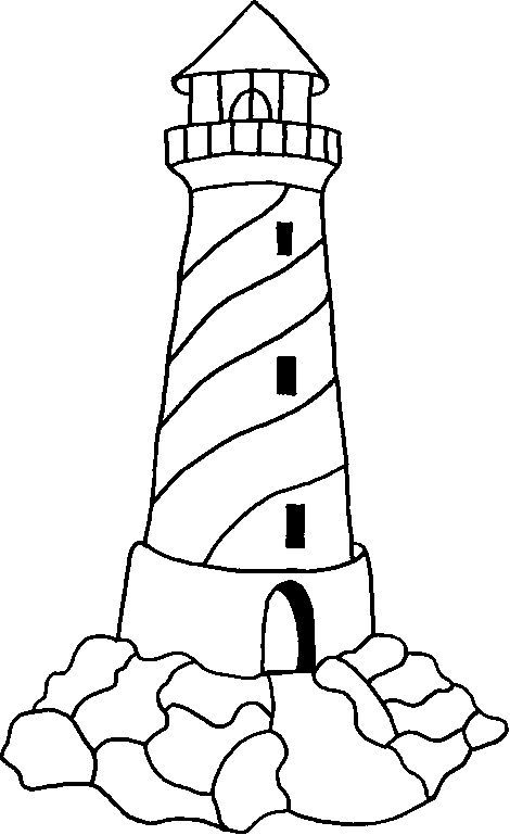 470x769 Lighthouse Coloring Pages Fordults Coloring Picture