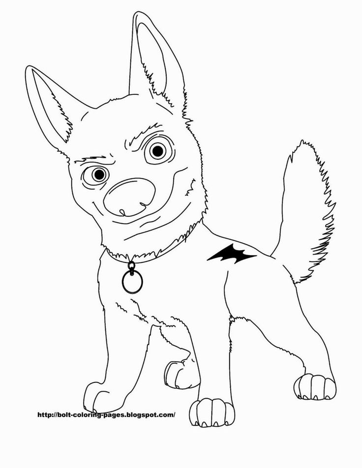 Lightning Bolt Coloring Page