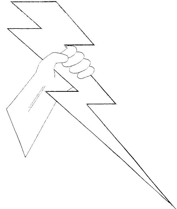 600x710 Lightning Bolt Coloring Page Lighting Bolt Coloring Page Lightning