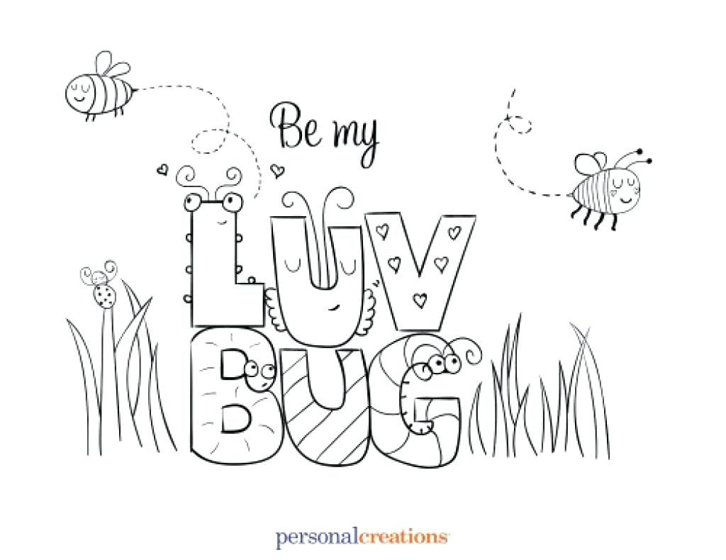 1024x790 Coloring Pages Bug Coloring Pages Love Interesting Photo