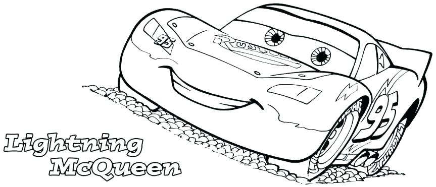 863x371 Lightning Mcqueen Color Pages