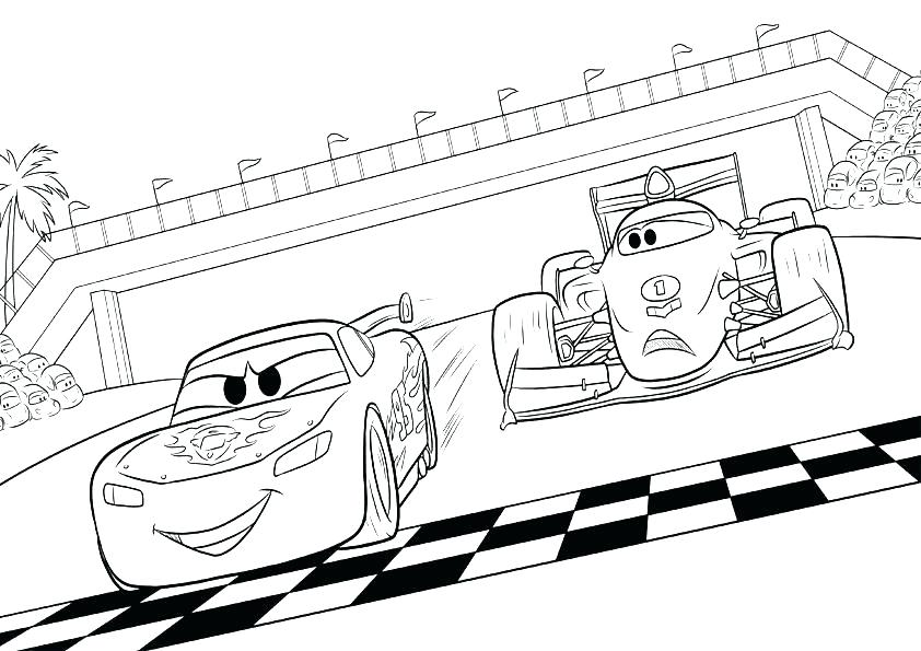 842x595 Mcqueen Coloring Pages Lightning And Mater Coloring Pages Steve