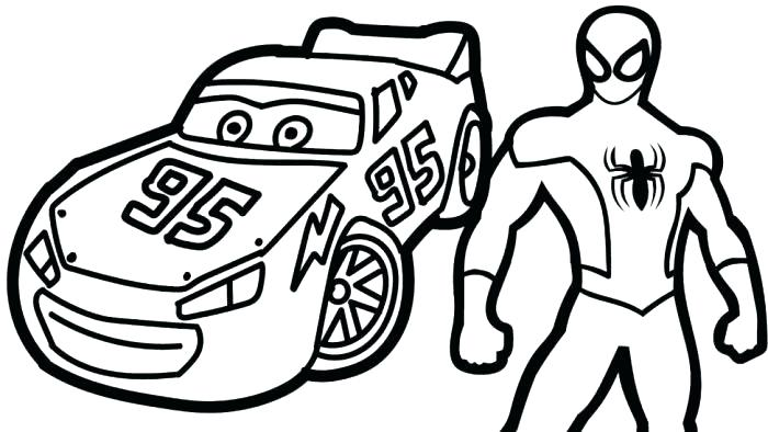 700x394 Coloring Pages Of Lightning Mcqueen Lighting And Tow Mater