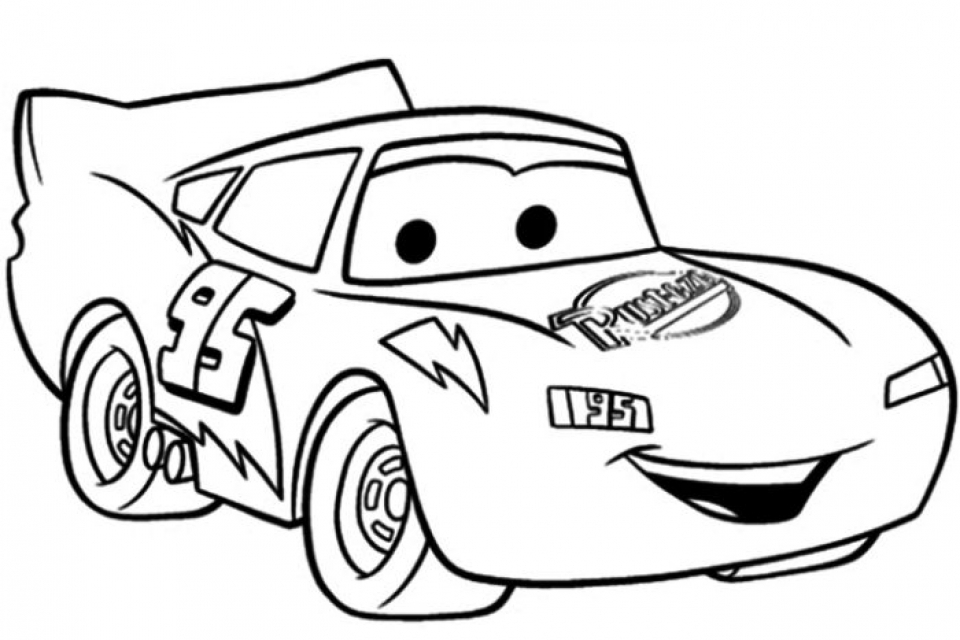 960x640 Free Lightning Mcqueen Coloring Pages Online
