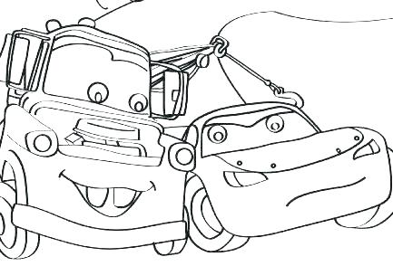 433x305 Lightning Mcqueen Coloring Pages Printable Lightning Coloring