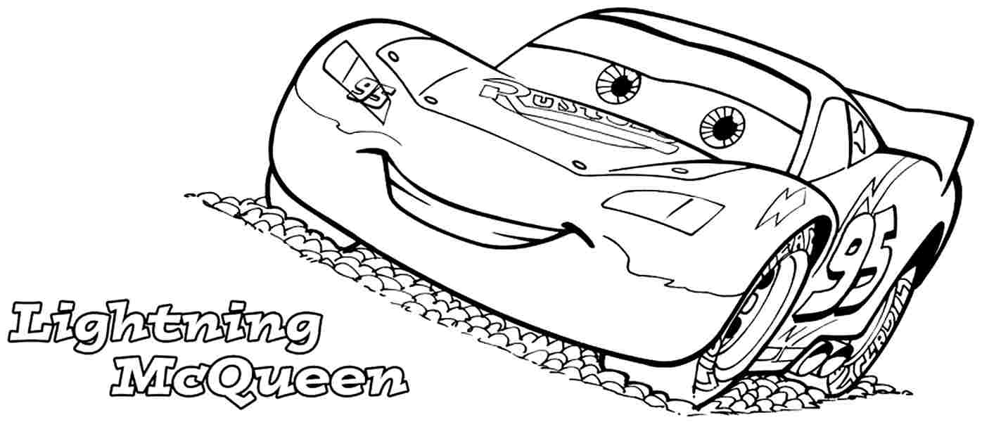 1396x600 Astonishing Mcqueen Coloring Pages Free Printa