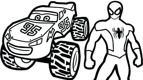 500x280 Coloring Pages Mcqueen Coloring Pages Lightning Mcqueen Print