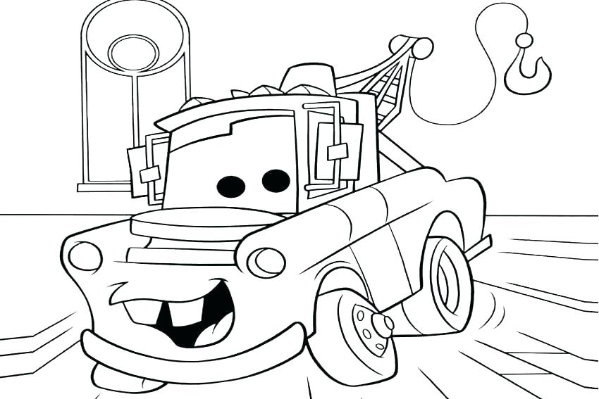 Lightning Mcqueen Coloring Pages Printable At GetDrawings Free Download
