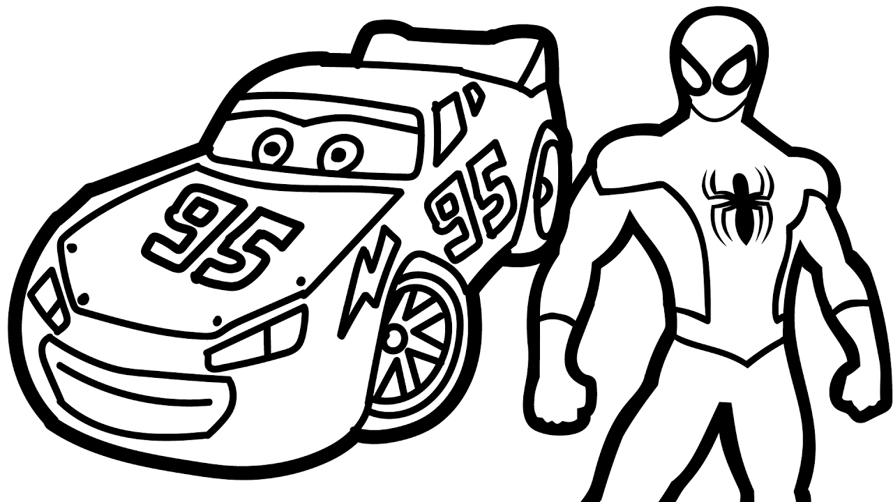 1280x720 Impressive Mcqueen Coloring Pages Nice Ideas L