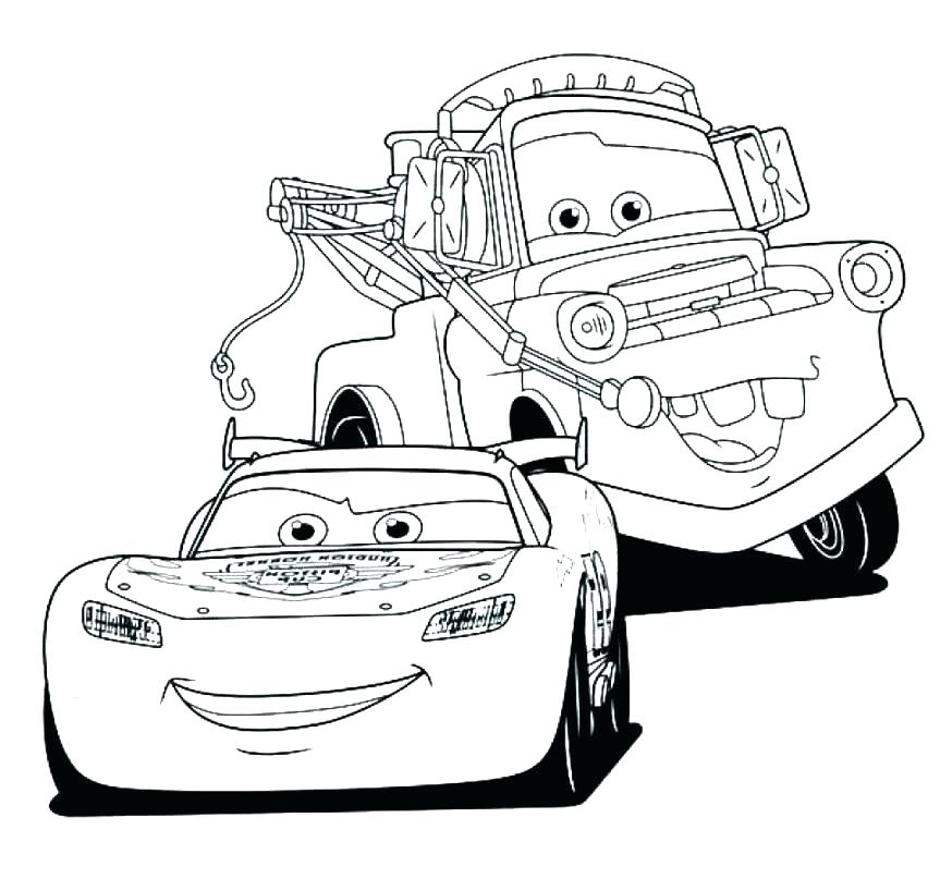 863x818 Lightning Mcqueen Coloring Pages Free Printable Lightning Mcqueen