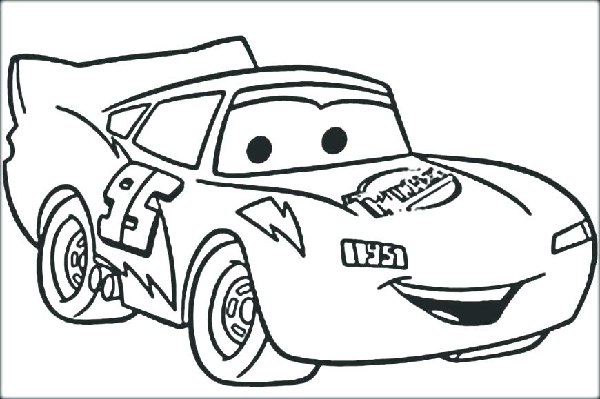 870x579 Lightning Mcqueen Coloring Pages Printable Lightning Coloring