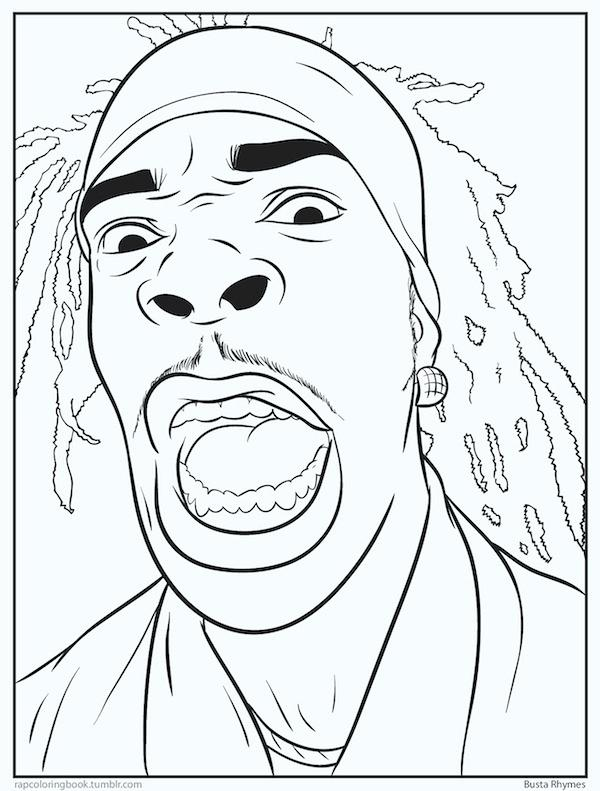 600x791 Lil Wayne Coloring Pages Coloring Sheets See More Of Bun B S Jumbo
