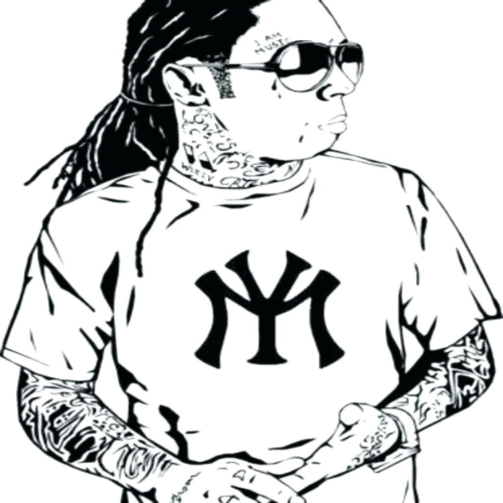 1024x1024 Luxury Lil Wayne Coloring Pages Ensign