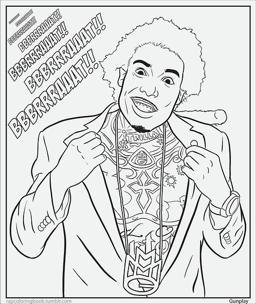 500x595 Rap Coloring And Activity Pages Coloring Books, Activities And Craft