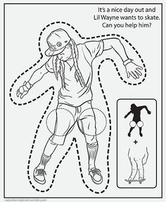 236x287 Lil Wayne Coloring Pages Coloring Pages Lil Wayne