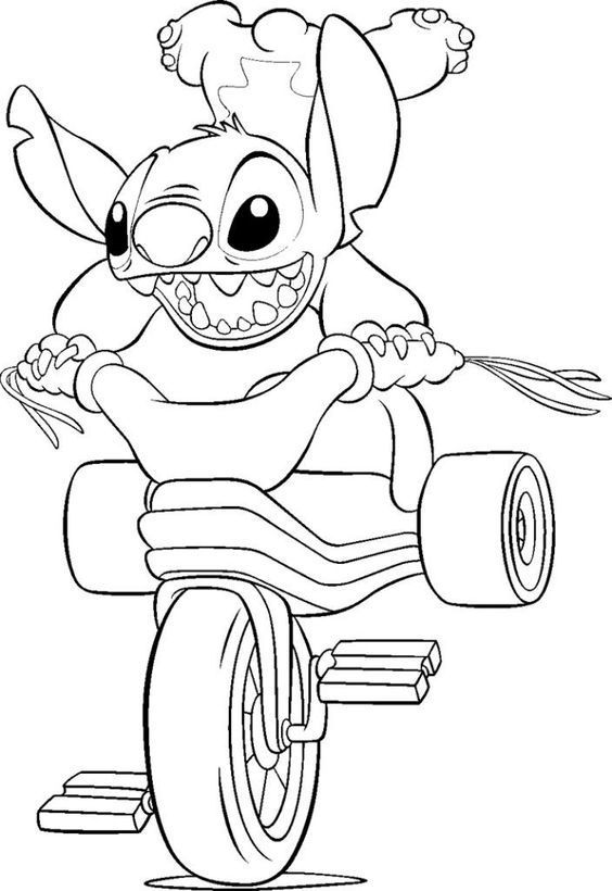Lilo And Stitch Coloring Pages Online