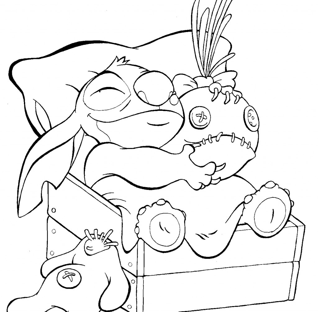 1024x1005 Lilo And Stitch Coloring Pages For Christmas Fun For Christmas