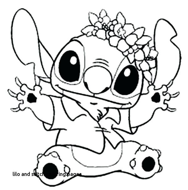 600x608 Lilo And Stitch Coloring Pages Beautiful Hawaiian Luau Printable