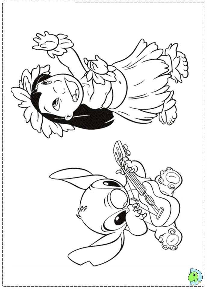 691x960 Top Lilo And Stitch Coloring Pages
