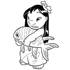 Lilo Coloring Pages