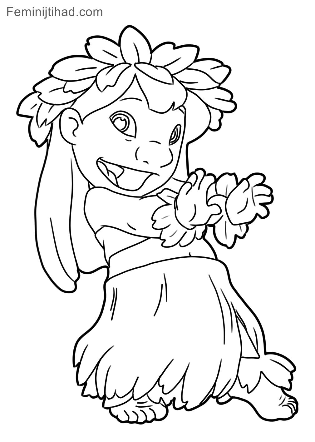 1009x1415 Lilo And Stitch Coloring Pages Free Download Coloring Pages For Kids