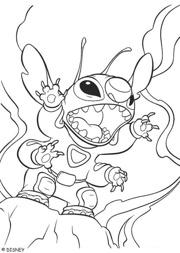 607x850 Lilo And Stitch Coloring Pages