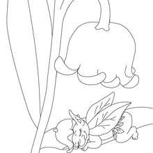220x220 Lily Of The Valley Coloring Pages