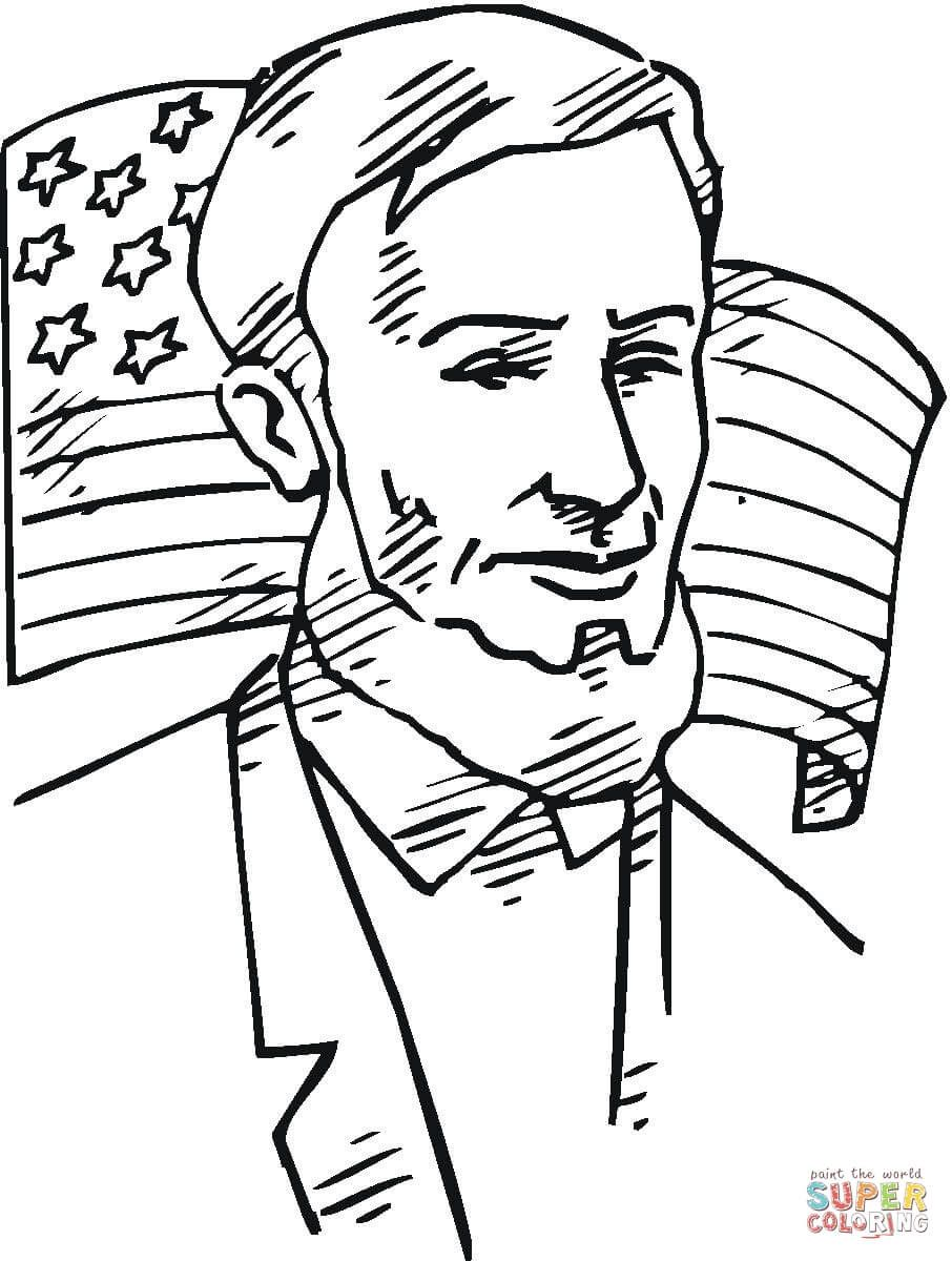 906x1200 Abraham Lincoln Coloring Pages