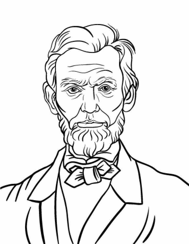 791x1024 Shocking Abraham Lincoln Coloring Best Eagleeme For Memorial Page