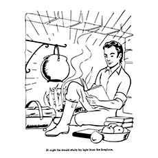 230x230 Top Abraham Lincoln Coloring Pages For Your Toddler