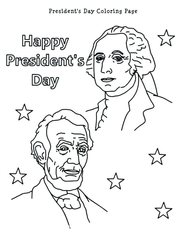 600x777 Abraham Lincoln Top Hat Coloring Page Usa Printables President