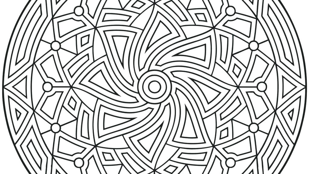 1024x576 Coloring Pages For Kids Animals Symmetry Line Online Colouring