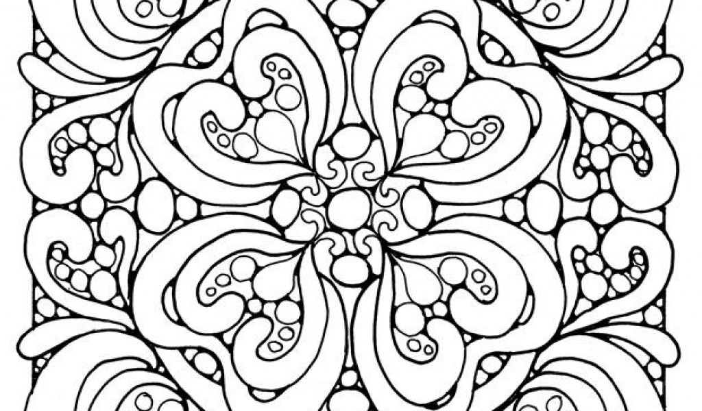 Lines Coloring Pages