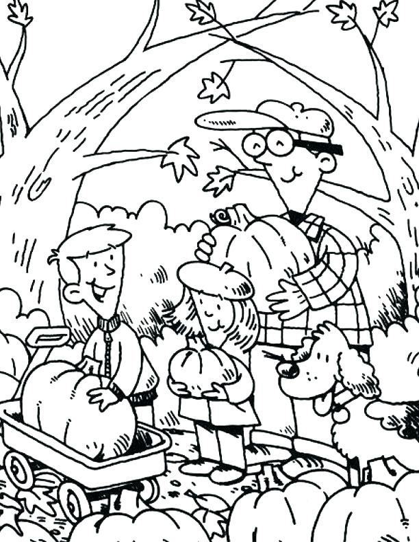 612x792 Homely Inpiration Pumpkin Patch Coloring Pages Printable Linus