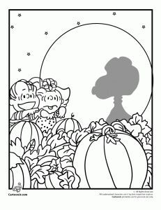 231x300 It's The Great Pumpkin Charlie Brown Coloring Pages Linus Waiting