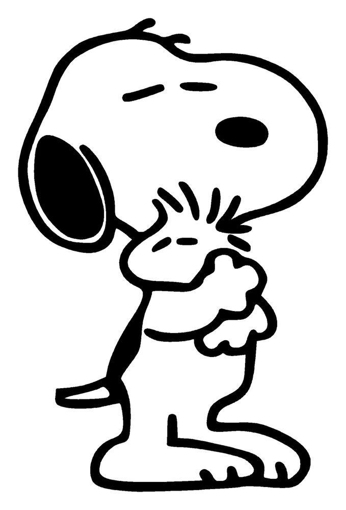 679x1000 Snoopy Decal Ebay Ez Easy Coloring Pagez Snoopy