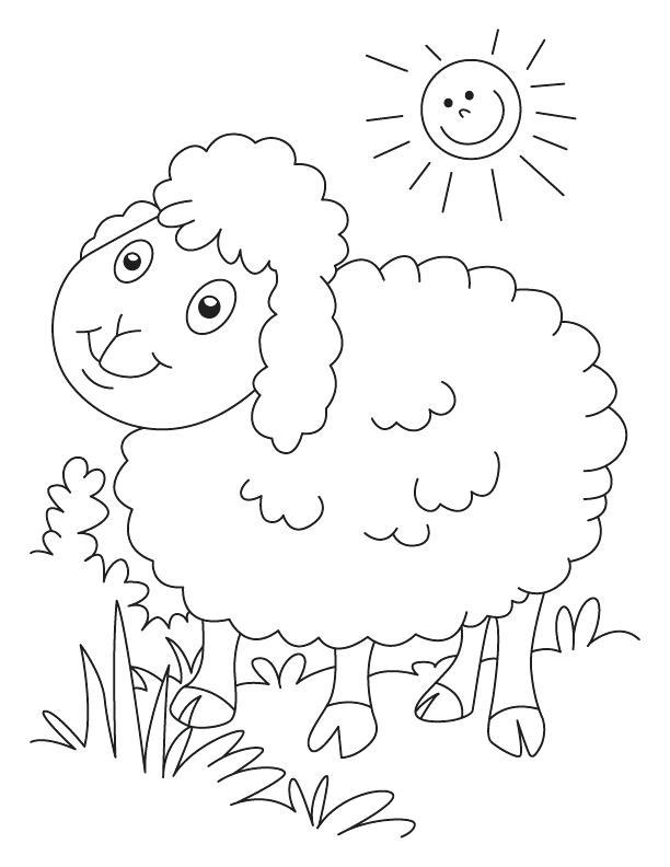 612x792 Good Lamb Coloring Page Or Click The Lamb Coloring Pages Lamb Lion